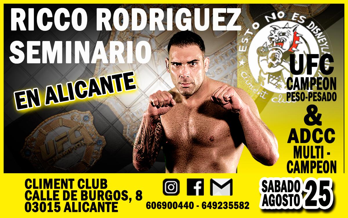 Un campeón del UFC en Alicante