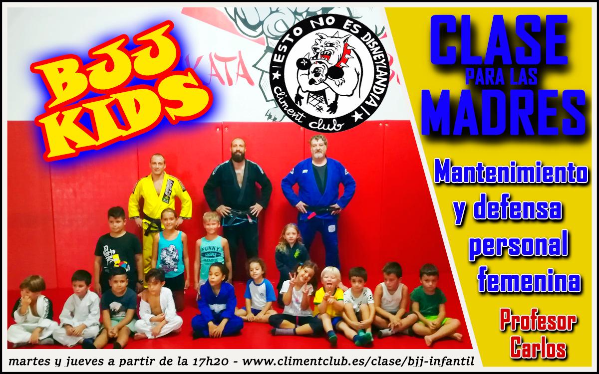 Empieza las clases de Jiu Jitsu para los niños y para las madres