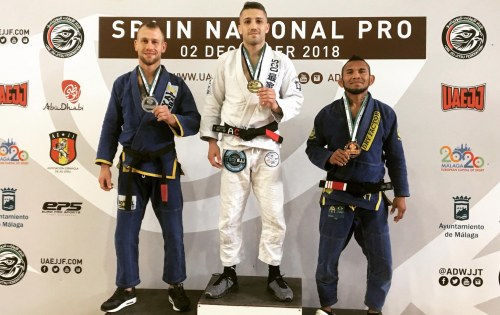 Resultado del Uaejjf Spain National Pro Malaga 2018