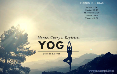 Yoga en Climent Club