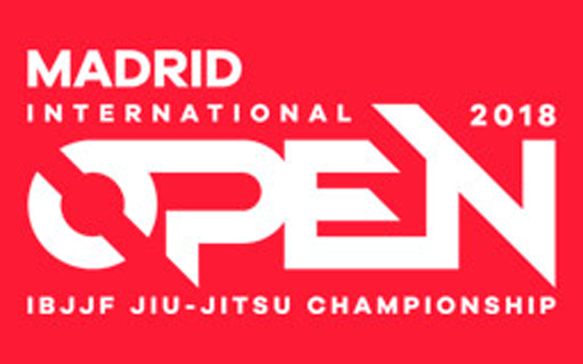 Resultado Open de Madrid 2018 de la IBJJF