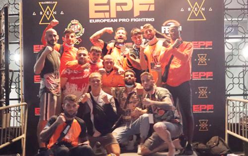 Climent Club en los podios del campeonato de España de MMA Amateur